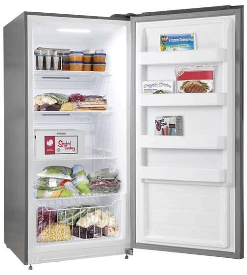 Réfrigérateur hybride Forno en couleur Acier Inoxydable présenté par Corbeil Electro Store