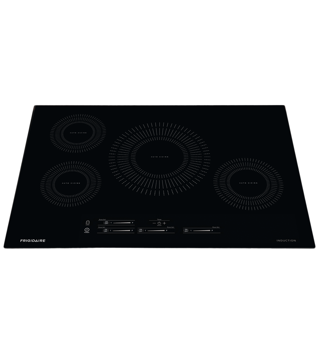 Frigidaire Cooktop 22 FFIC3026T in Black color showcased by Corbeil Electro Store