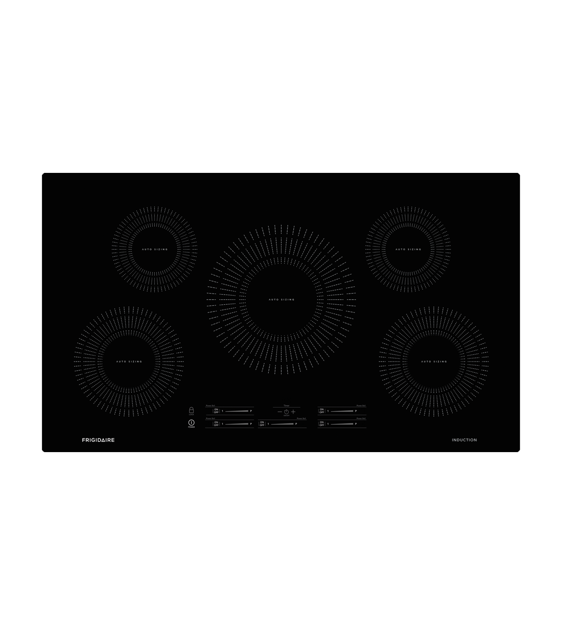 Frigidaire Cooktop 22 FFIC3626T in Black color showcased by Corbeil Electro Store