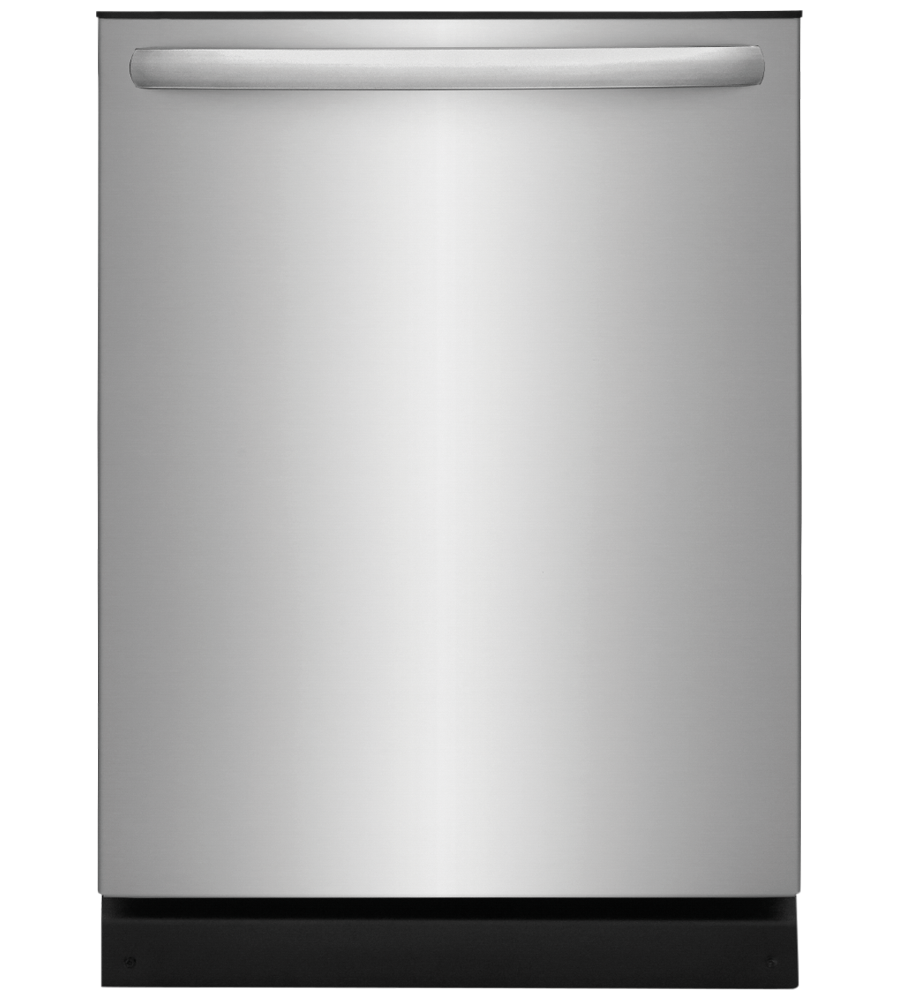 Frigidaire Dishwasher 24 FFID2426T in Stainless Steel color showcased by Corbeil Electro Store