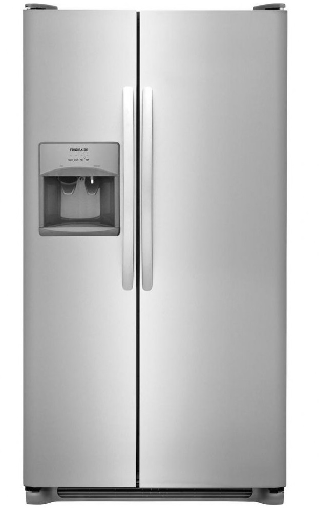 Frigidaire Refrigerator 36 Stainless Steel in Stainless Steel color showcased by Corbeil Electro Store