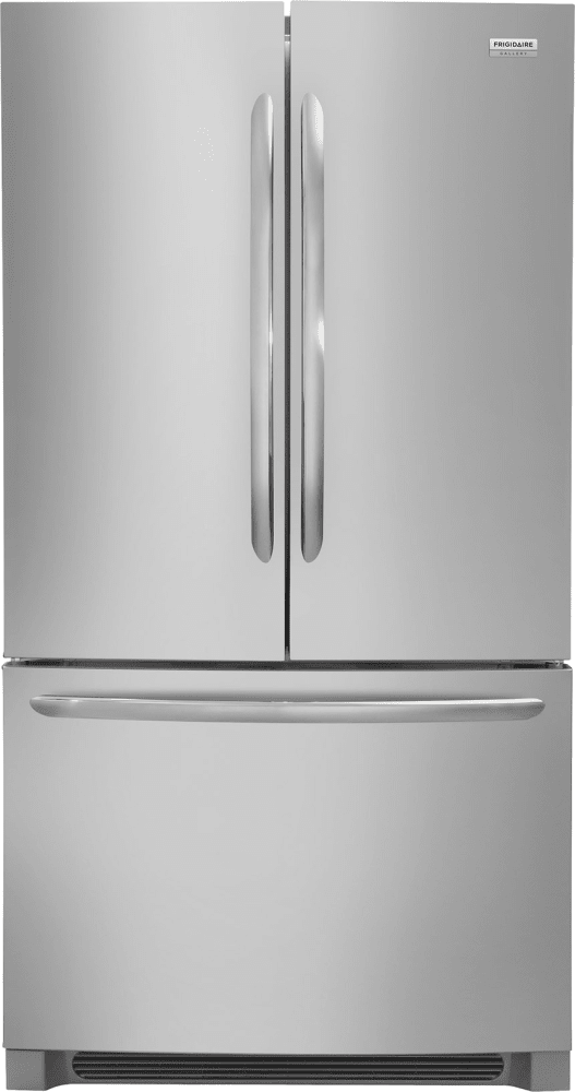 Frigidaire Gallery Refrigerator in Stainless Steel color showcased by Corbeil Electro Store