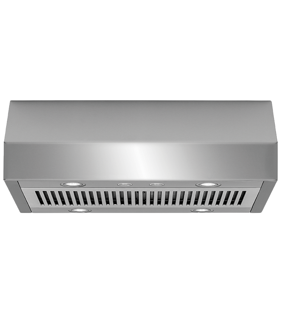 Frigidaire Professional Ventilation in Stainless Steel color showcased by Corbeil Electro Store