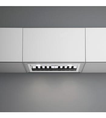 et deux lampes à DEL parfaitement positionnées qui éclairent votre surface de cuisson tout en économisant de l'énergie.  Toutes les hottes Falmec sont faites d'acier inoxydableAISI304