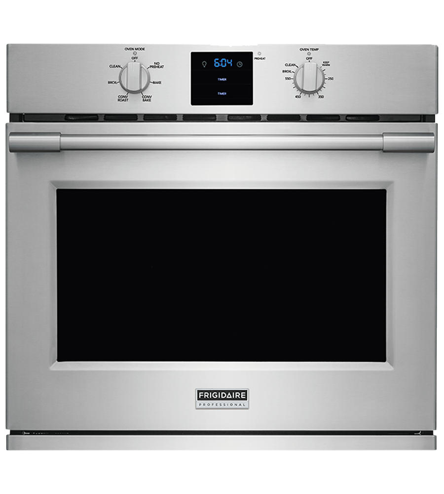 Frigidaire Professional Wall oven in Stainless Steel color showcased by Corbeil Electro Store