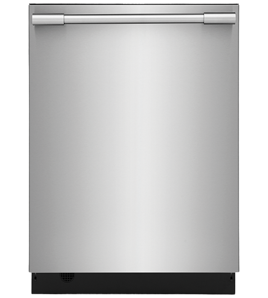 Frigidaire Professional Dishwasher in Stainless Steel color showcased by Corbeil Electro Store