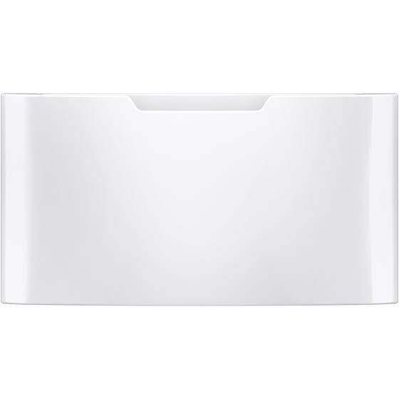 GE Buanderie Piedestal GFP1528SNWW en couleur Blanc présenté par Corbeil Electro Store