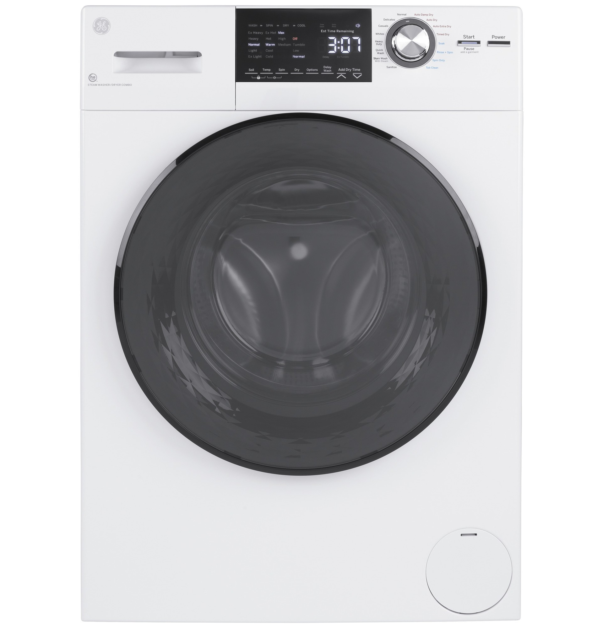 GE Washer-Dryer All-in-One GFQ14ESSNWW