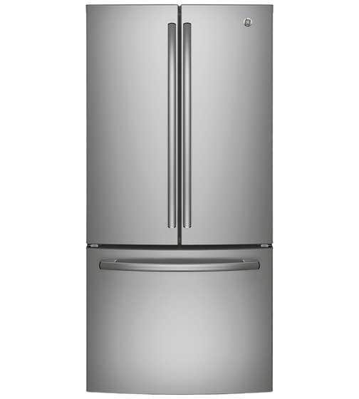 GE Refrigerateur 33 Acier Inoxydable GNE25DSKSS en couleur Acier Inoxydable présenté par Corbeil Electro Store