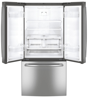 GE Refrigerateur 33 Acier Inoxydable GNE25DSKSS