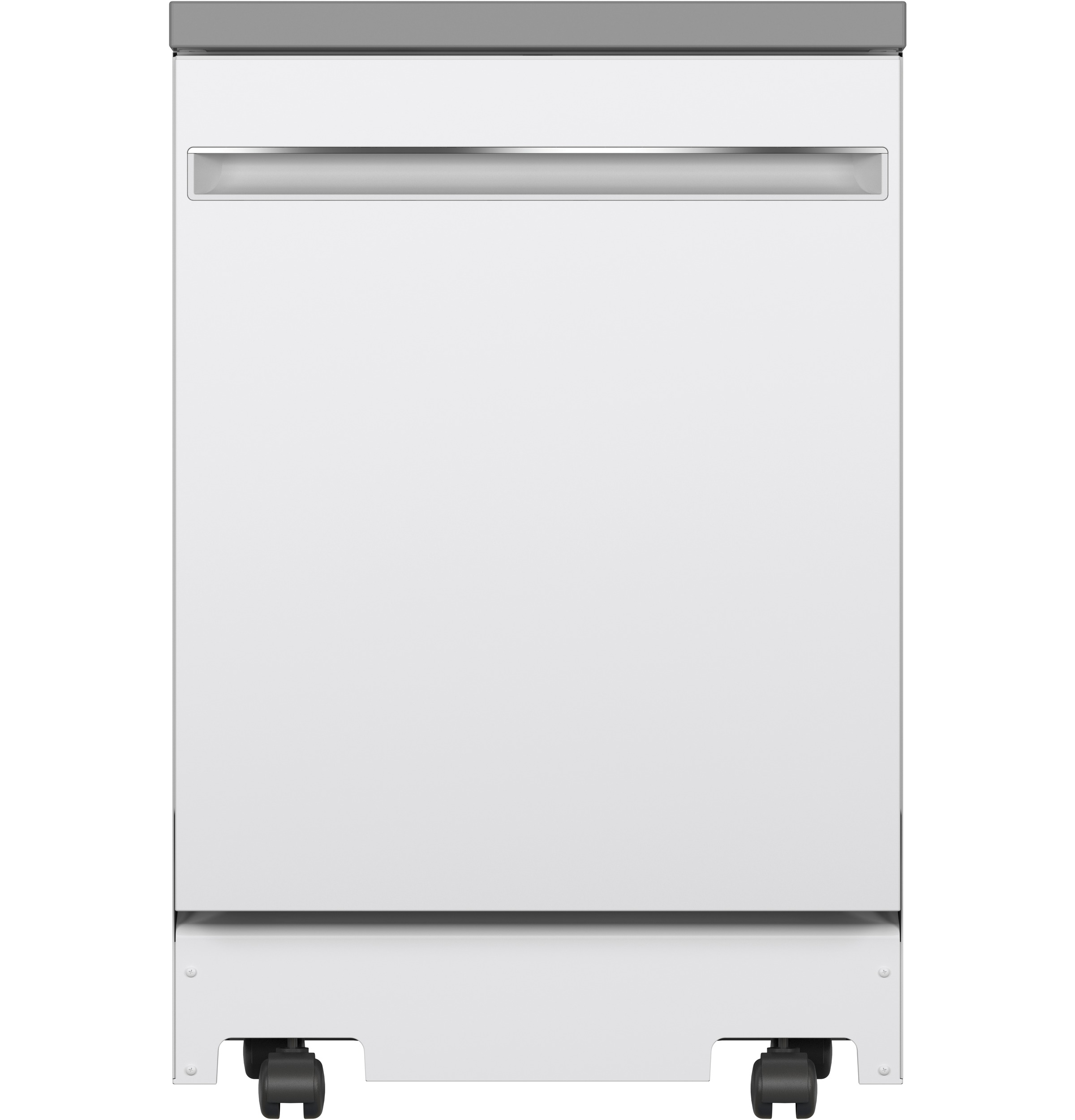 GE Dishwasher in White color showcased by Corbeil Electro Store