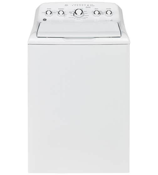 GE Laveuse 27 Blanc GTW460BMMWW en couleur Blanc présenté par Corbeil Electro Store
