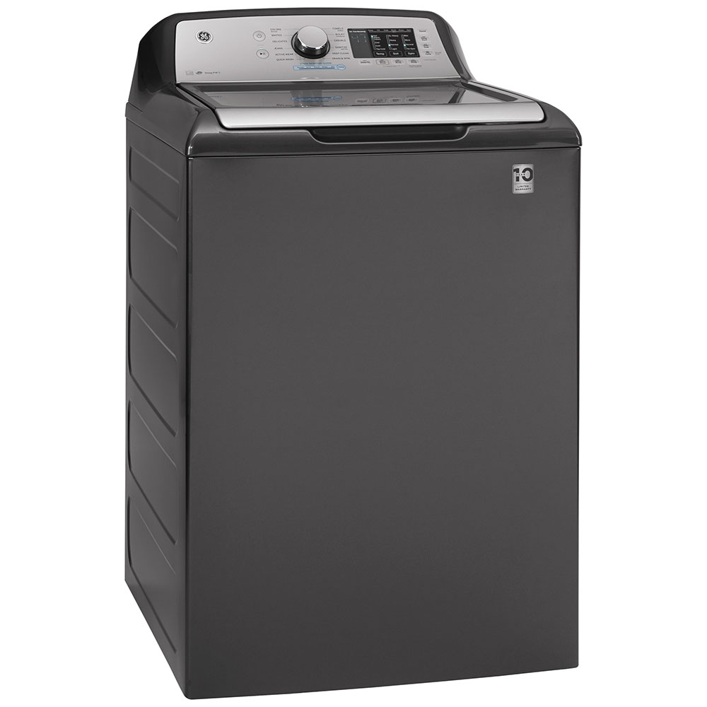 GE Washer GTW720BPNDG in Grey color showcased by Corbeil Electro Store