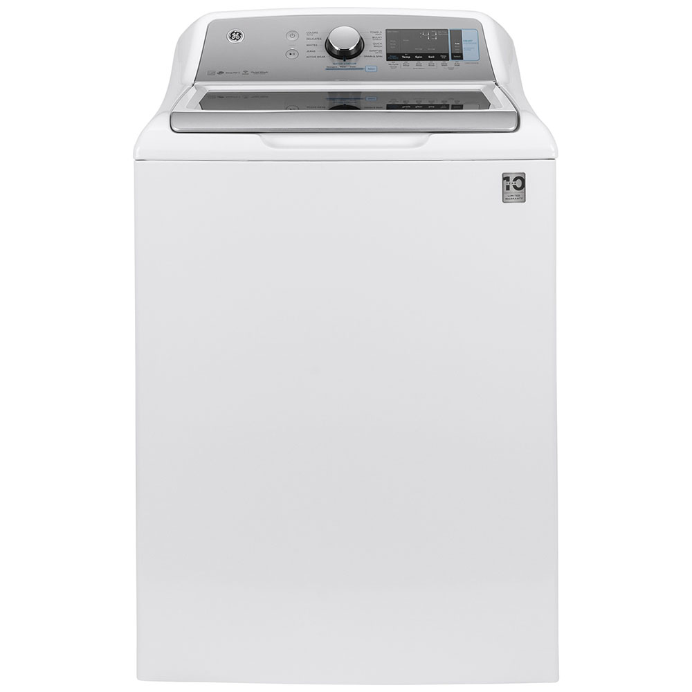 GE Washer GTW840CSNWS in White color showcased by Corbeil Electro Store