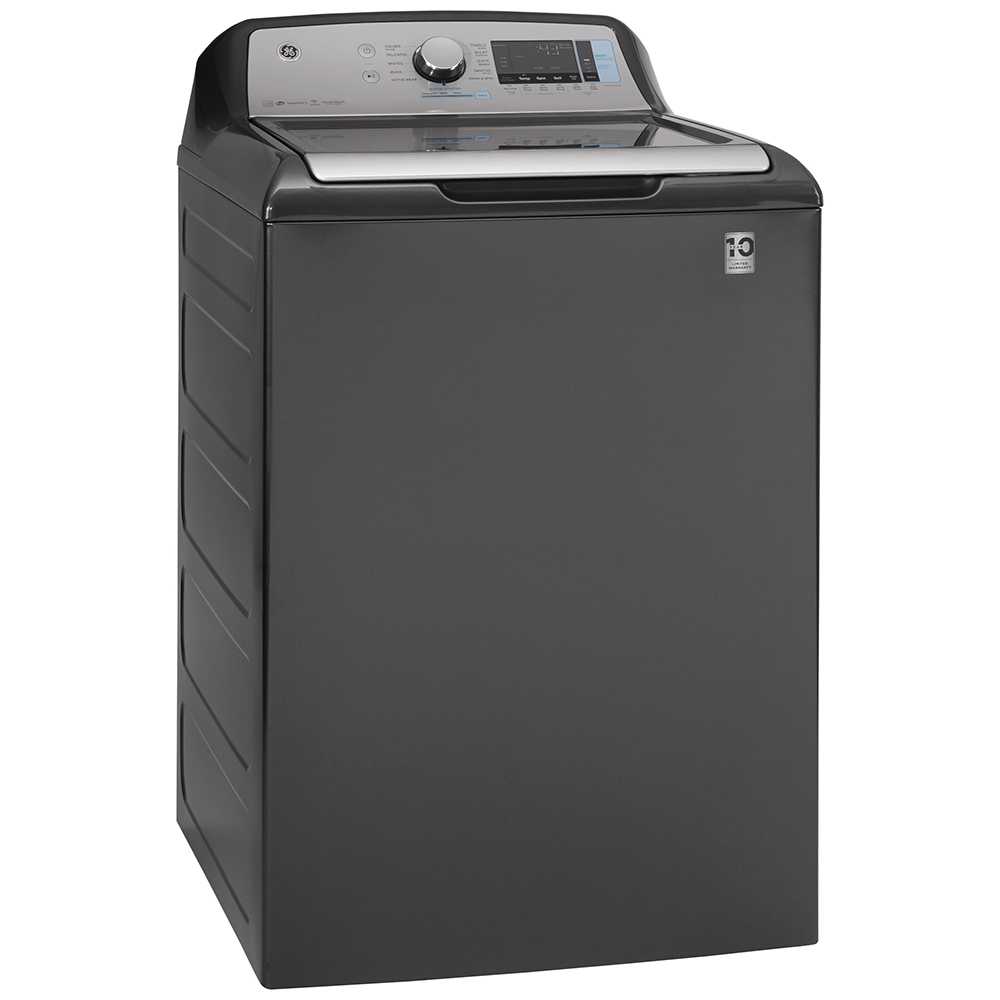 GE Washer GTW845CPNDG in Grey color showcased by Corbeil Electro Store