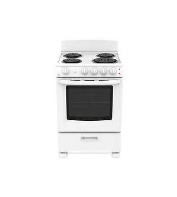 GE Cuisiniere 24 Blanc JCAS300DMWW