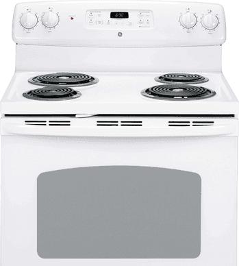 GE Cuisiniere 30 Blanc JCBP240DMWW