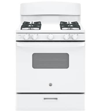 Cuisinière GE en couleur Blanc présenté par Corbeil Electro Store