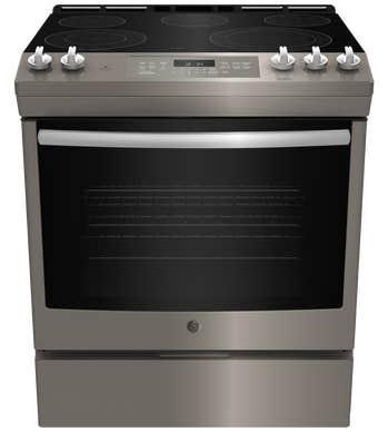 GE Cuisiniere 30 JCS840 en couleur Ardoise présenté par Corbeil Electro Store