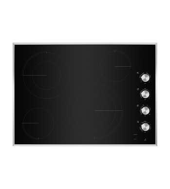 Plaque de cuisson Jenn-Air en couleur Noir sur Inox présenté par Corbeil Electro Store
