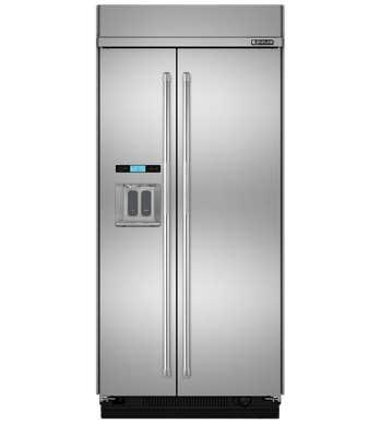 Réfrigérateur Jenn-Air en couleur Acier Inoxydable présenté par Corbeil Electro Store