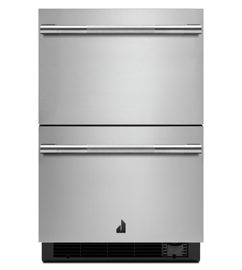 Réfrigérateur/Congélateur Jenn-Air en couleur Acier Inoxydable présenté par Corbeil Electro Store