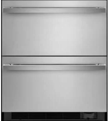 Réfrigérateur/Congélateur Jenn-Air en couleur Acier Inoxydable Noir présenté par Corbeil Electro Store