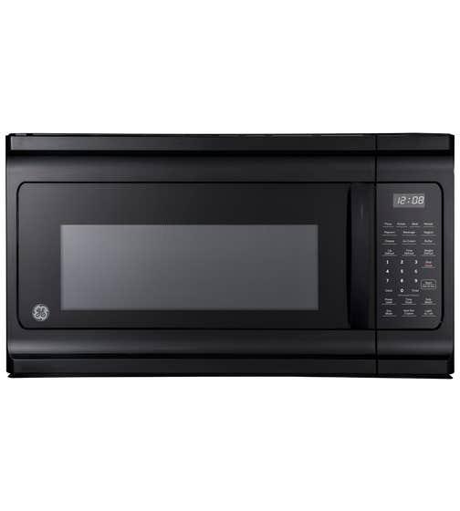 GE Micro-onde Hotte en couleur Noir présenté par Corbeil Electro Store