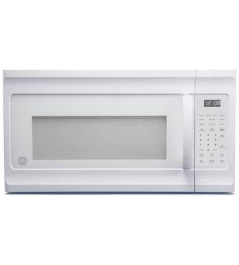 GE Micro-onde Hotte en couleur Blanc présenté par Corbeil Electro Store
