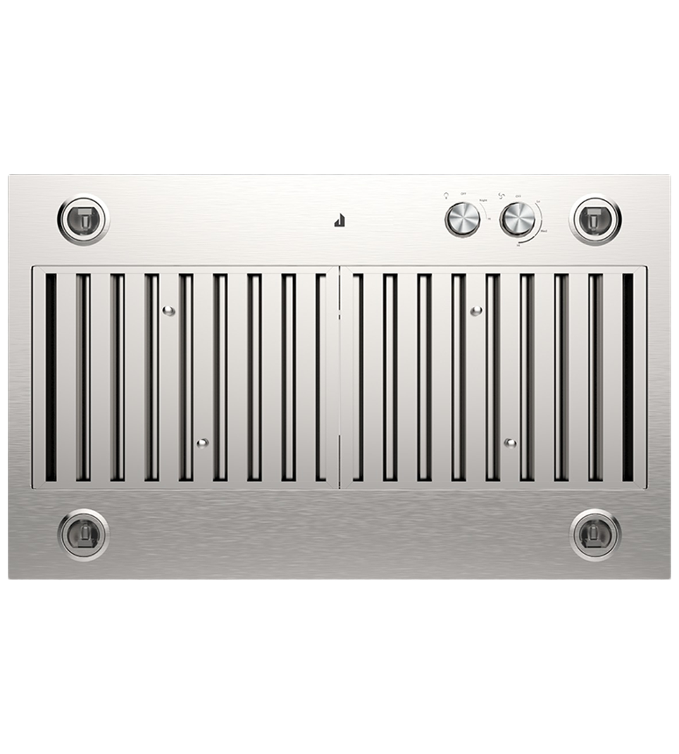Jenn-Air ventilation in Stainless Steel color showcased by Corbeil Electro Store