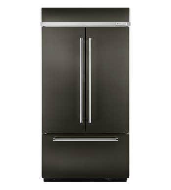 Refrigerateur Kitchen Aid en couleur Acier Inoxydable Noir présenté par Corbeil Electro Store
