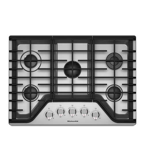 Plaque de cuisson Kitchen Aid en couleur Acier Inoxydable présenté par Corbeil Electro Store