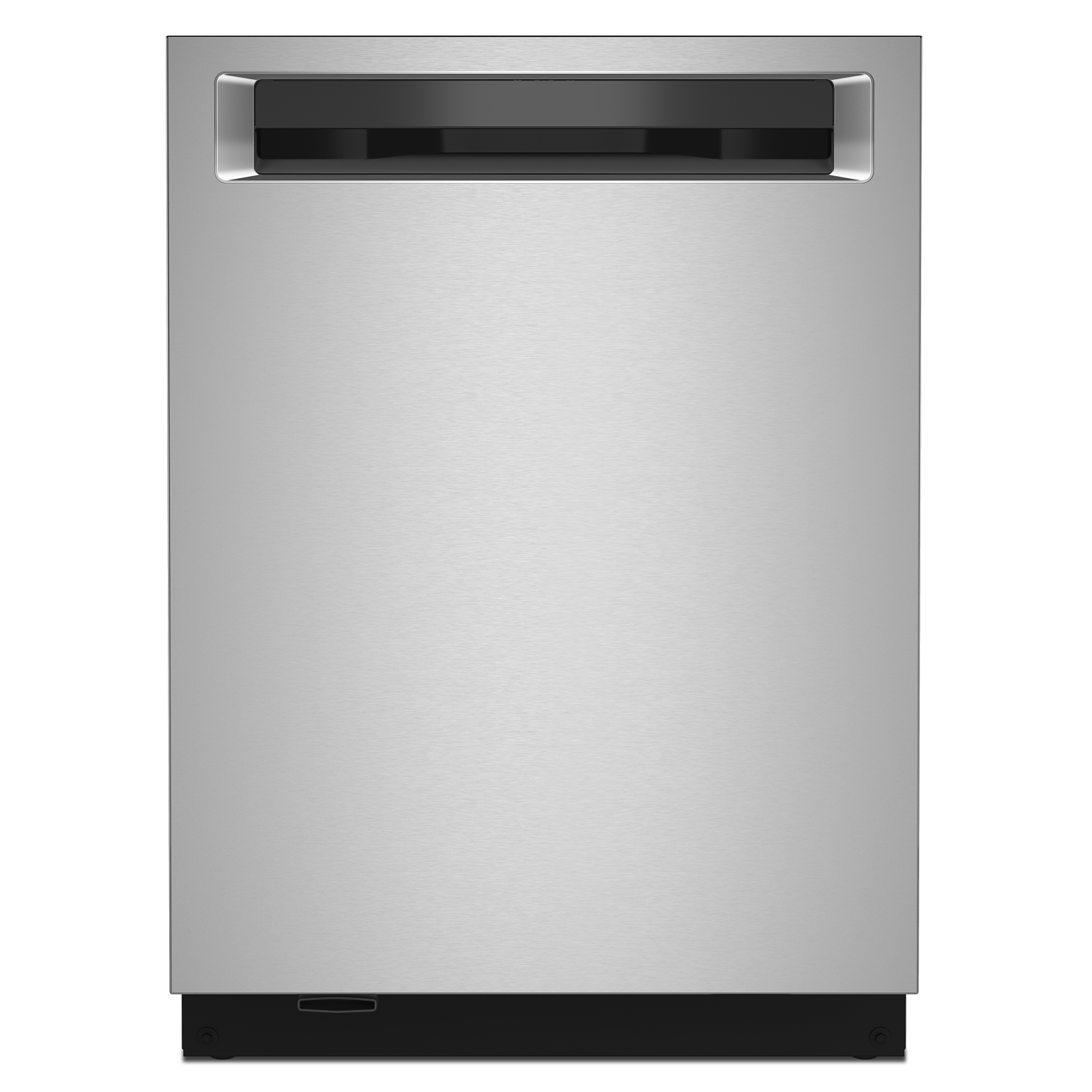 KitchenAid Dishwasher in Stainless Steel color showcased by Corbeil Electro Store