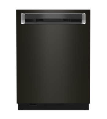 Lave-vaisselle KitchenAid en couleur Acier Inoxydable Noir présenté par Corbeil Electro Store