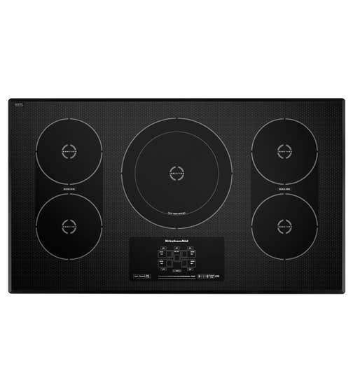 Plaque de cuisson Kitchen Aid en couleur Noir présenté par Corbeil Electro Store
