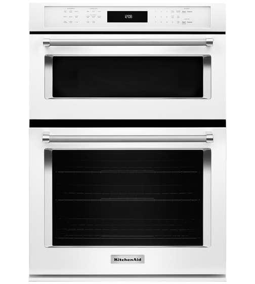 KitchenAid Four combine 30 KOCE500E en couleur Blanc présenté par Corbeil Electro Store