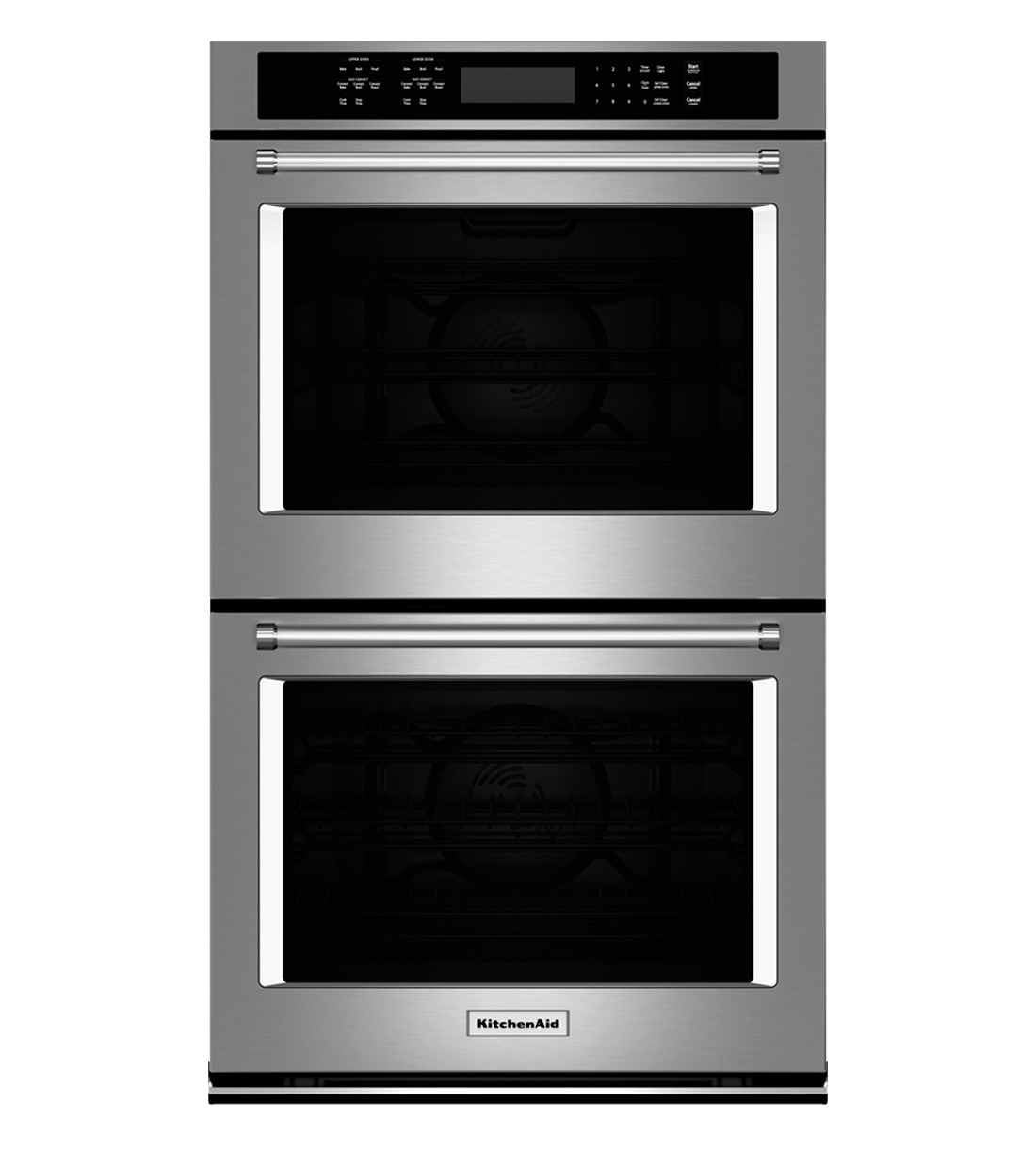 Kitchen Aid wall oven showcased by Corbeil Electro Store