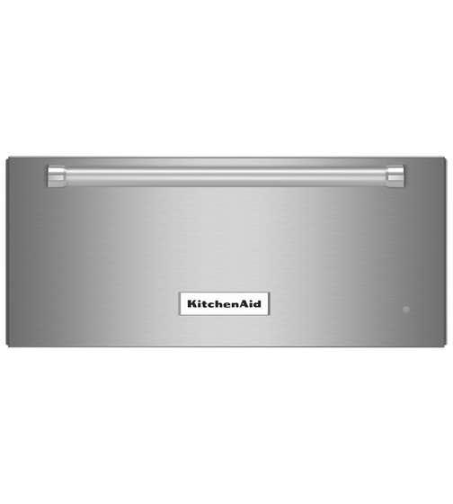 Tiroir réchaud KitchenAid en couleur Acier Inoxydable présenté par Corbeil Electro Store