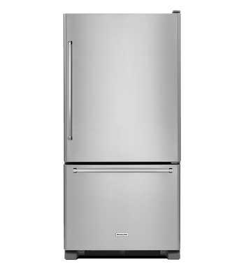 KitchenAid Refrigerator 33 StainlessSteel KRBR102ESS