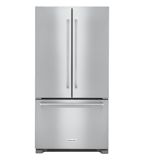 KitchenAid Refrigerator 36 KRFC302E showcased by Corbeil Electro Store
