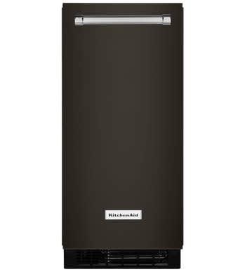 Machine à glaçons Kitchen Aid en couleur Acier Inoxydable Noir présenté par Corbeil Electro Store