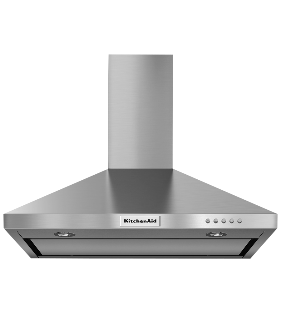 Kitchen Aid ventilation in Stainless Steel color showcased by Corbeil Electro Store