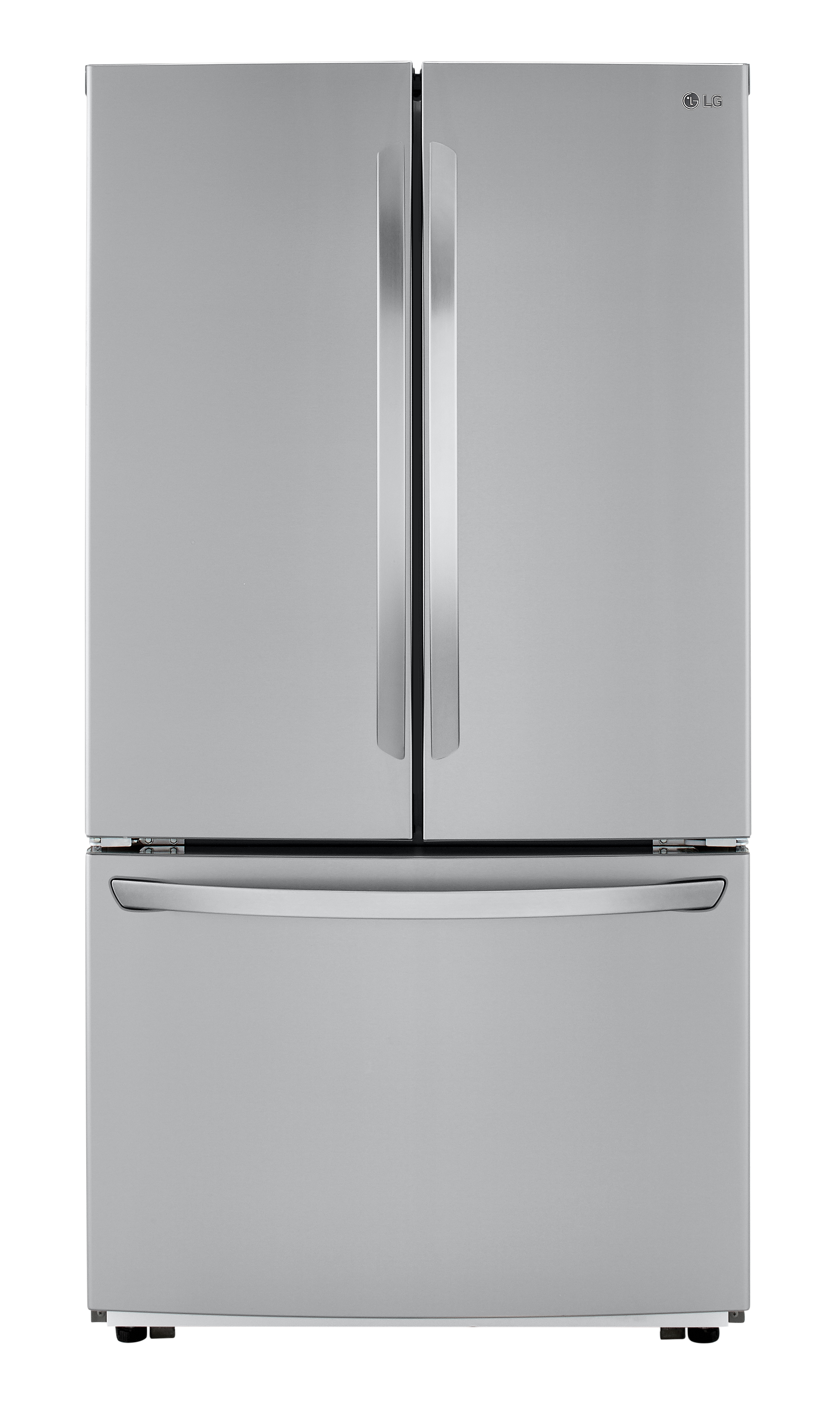 LG Refrigerator 36 StainlessSteel LFCC22426S in Stainless Steel color showcased by Corbeil Electro Store
