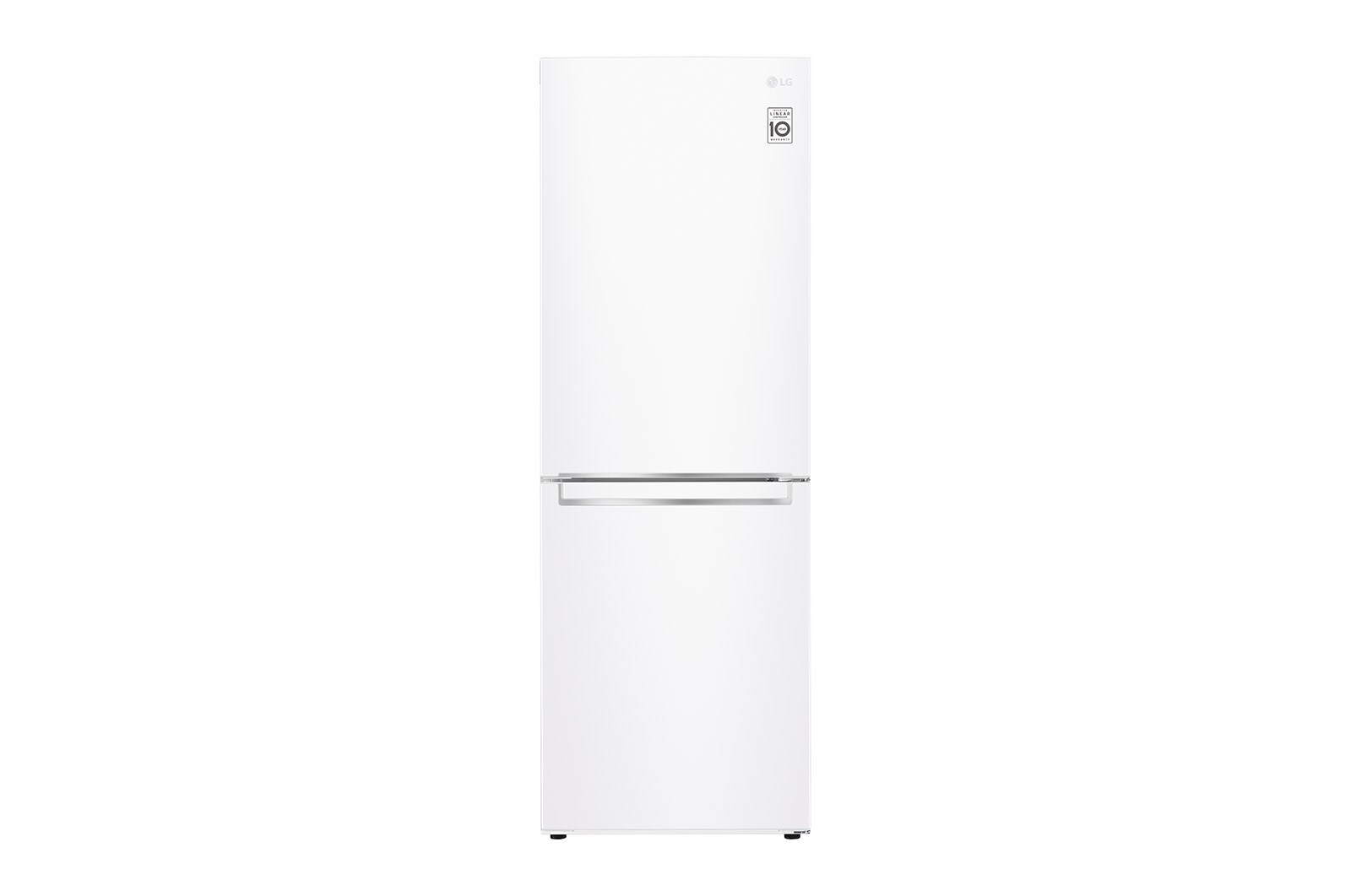 LG Fridge LRDNC1004W in White color showcased by Corbeil Electro Store
