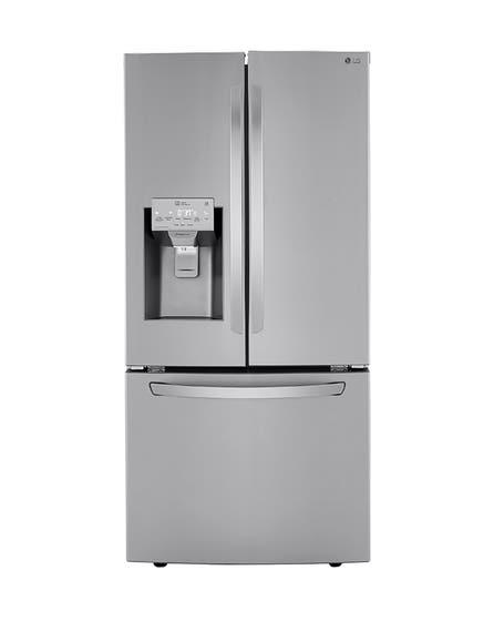 LG Refrigerator 33 LRFXS2503 showcased by Corbeil Electro Store