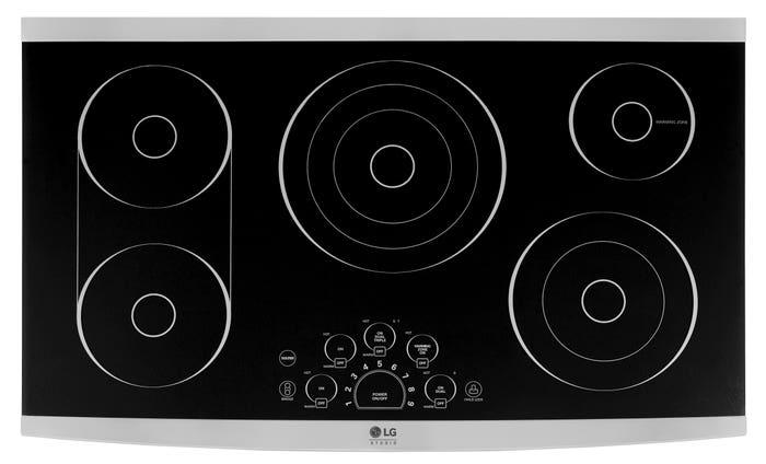 LG Plaque de cuisson LSCE305ST en couleur Acier Inoxydable présenté par Corbeil Electro Store