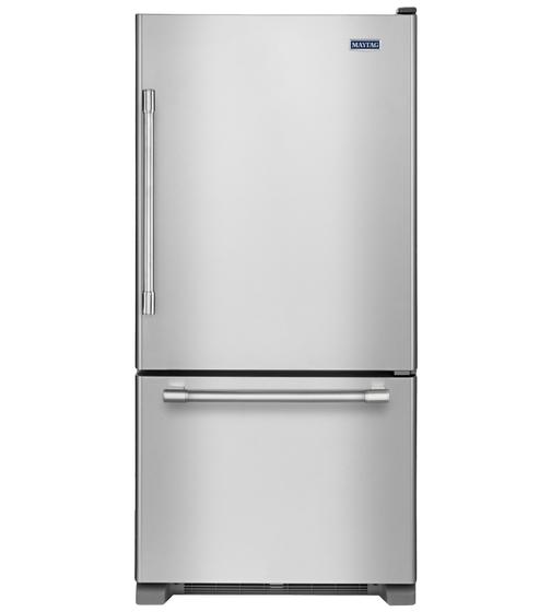 Maytag Refrigerator 30 StainlessSteel MBR1957FEZ