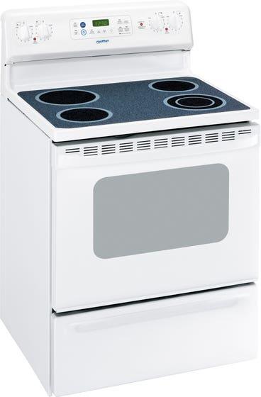 Moffat Cuisinière MCB787DNWW en couleur Blanc présenté par Corbeil Electro Store
