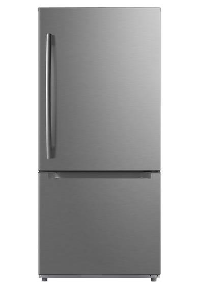 Moffat Réfrigérateur MDE19DSNKSS en couleur Acier Inoxydable présenté par Corbeil Electro Store
