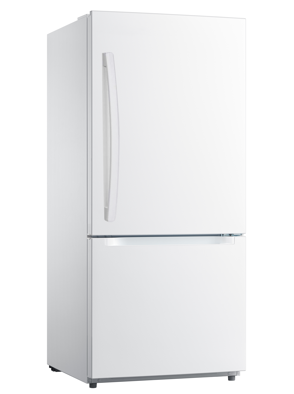 Moffat Réfrigérateur MDE19DTNKWW en couleur Blanc présenté par Corbeil Electro Store